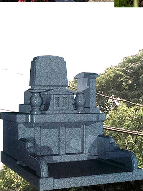 3.0m² ゆとり区画墓石イメージ