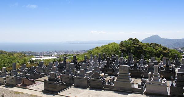 鶴見やすらぎ霊園から見た風景