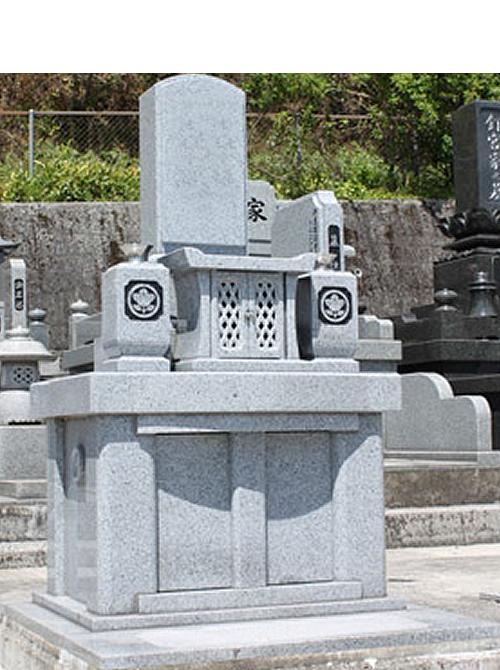 1.0m² やすらぎ15型墓石イメージ