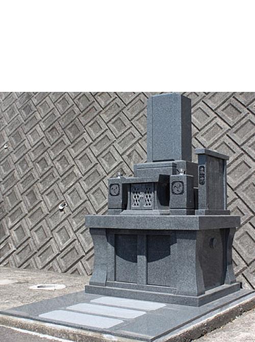 2.5m² やすらぎ16型墓石イメージ