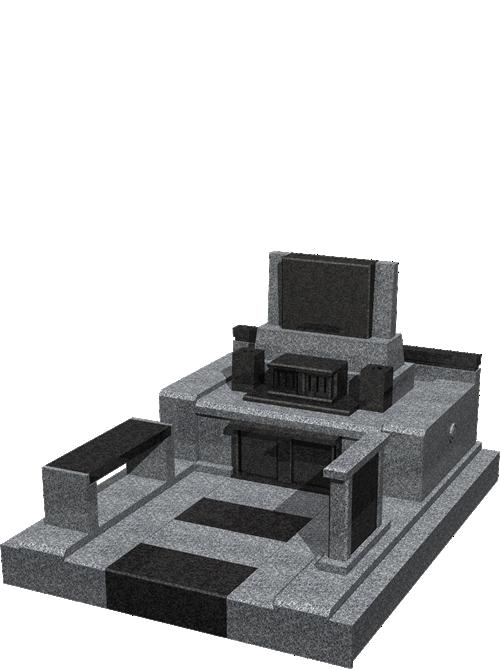 自由区画墓石イメージ