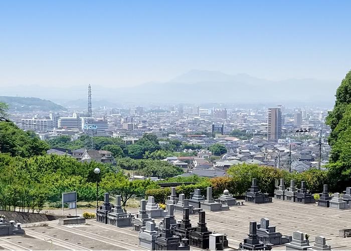 柚ノ木浄苑Ⅱの全景