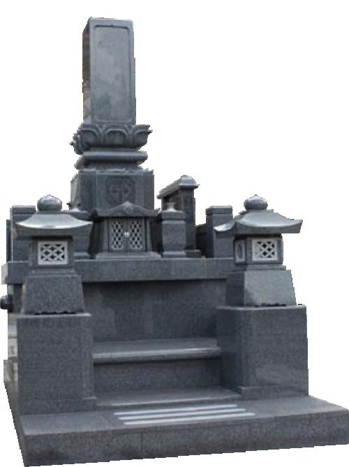 4m²~ 自由区画墓石イメージ